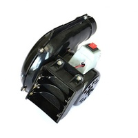 China Coast CE Approved DC Black Air Blower Fan
