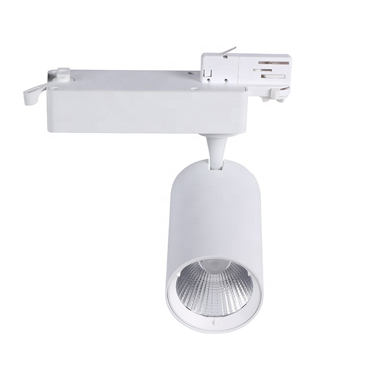 Guangdong manufacturer cob commercial led track light 45w cri90