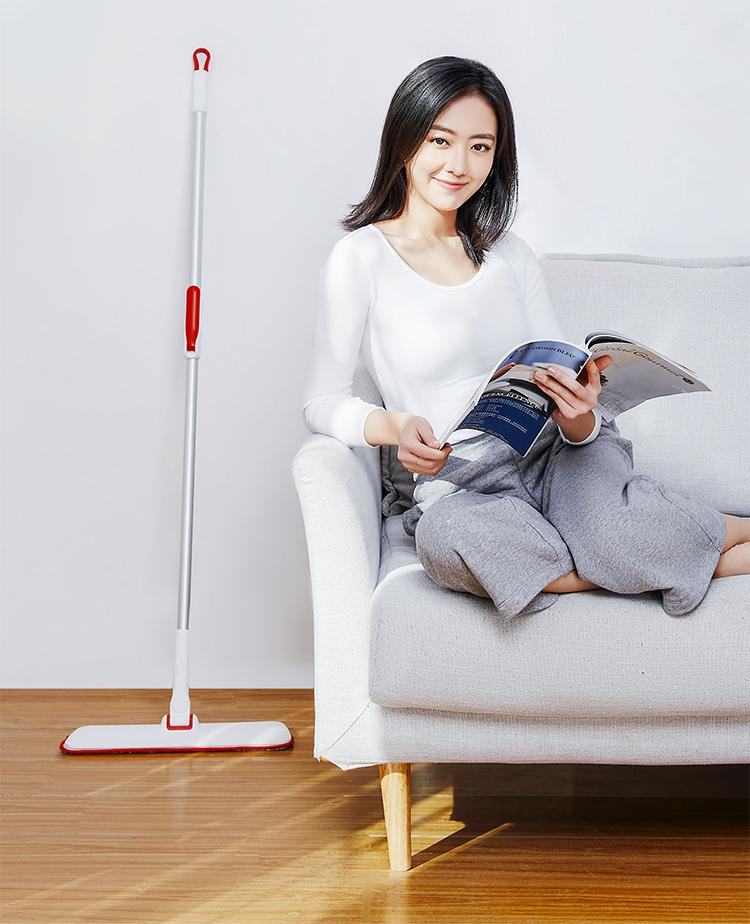 Microfiber Amazon house clean window clean magic flat floor mop