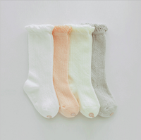 High quality summer cute white girls tube socks knee high socks tube teen girls wgite socks girls