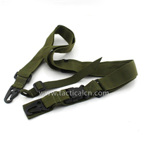 Tactical Three 3 Point Rifle Sling Adjustable Airsoft Sling Gun Strap Belt