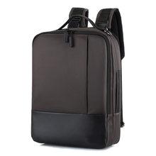 Деловой рюкзак для ноутбука 2020, мужская сумка через плечо 16,5, USB рюкзаки для ноутбука, мужские водонепроницаемые сумки с защитой от кражи(Китай)