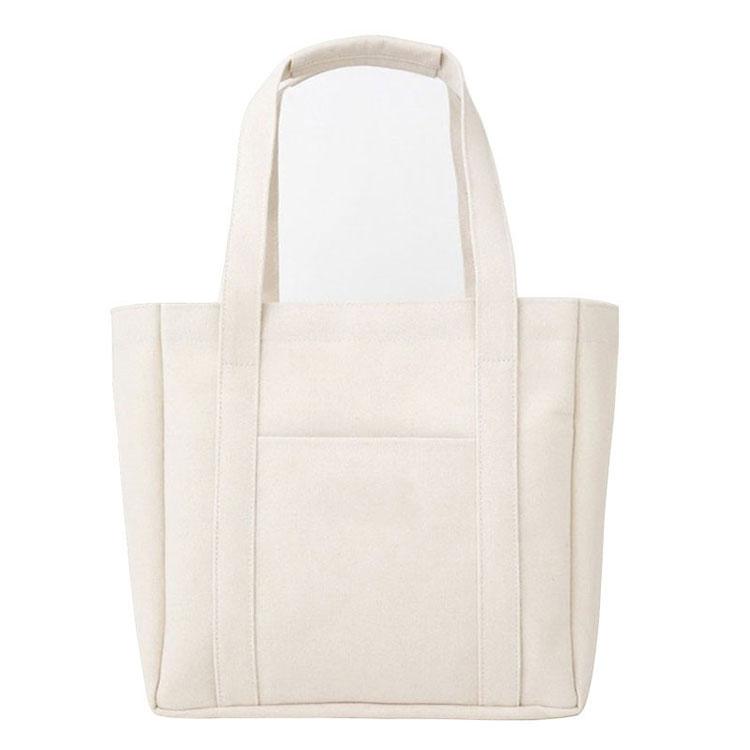 Commercio all'ingrosso riutilizzabile personalizzato heavy extra large tela di cotone tote bag