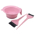 Unico Barbershop Plastica Impugnatura Diritta Hair Dye Colorazione Bowl Brush Kit
