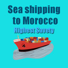 safety DDP/DDU Sea Freight Shipping Rates From China to Morocco