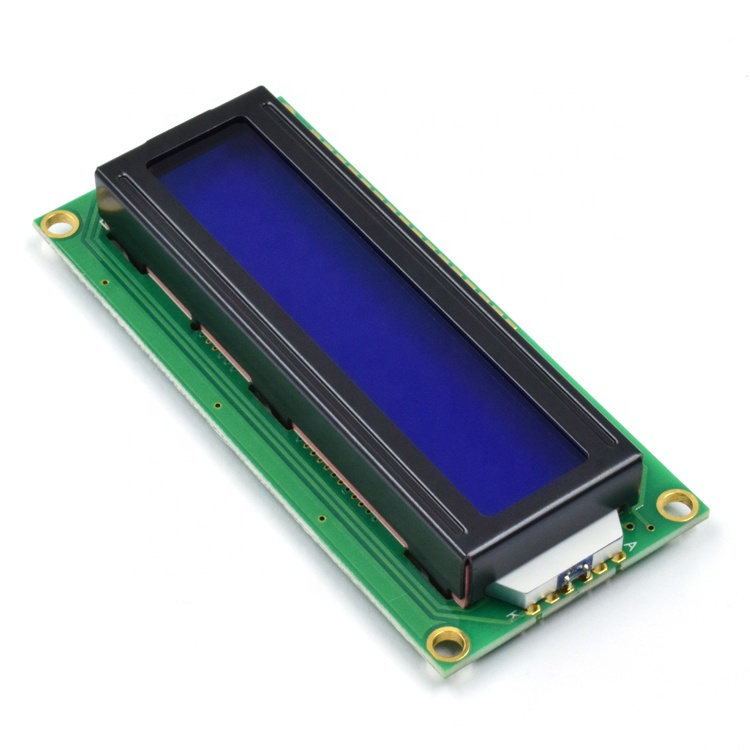 Small Panel  2X16 Character Screen 1602 Module Display Monochrome led Backlight Alphanumeric Lcd 16X2