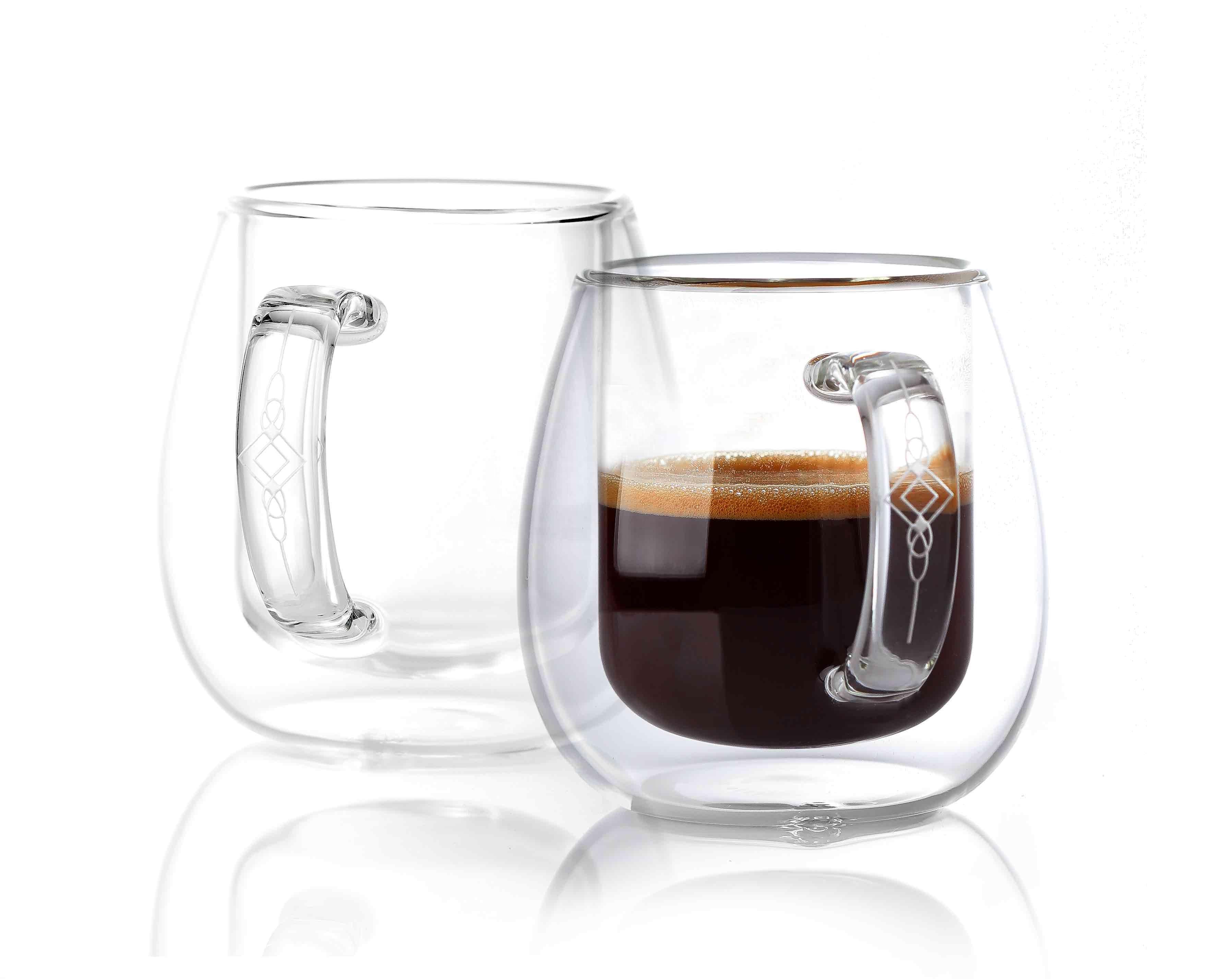 Verre À Double Paroi Isolé Tasses à café Expresso