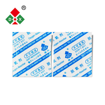 Oxygen absorber deoxidizing agent