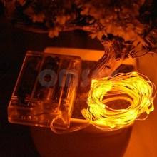 Светодиодные шнуры медная проволока AA на батарейках Рождественская Свадебная вечеринка украшение гирлянда сказочные огни украшения для д...(Китай)