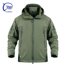 MILITAIRE Outdoor Olijf GROEN <span class=keywords><strong>KLEUR</strong></span> Waterdichte Jas LEGER Softshell heren Jas YUEMAI