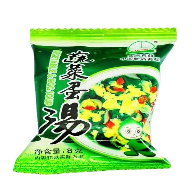 Best selling produtos 2020 china alimento liofilizado sopa de ovo