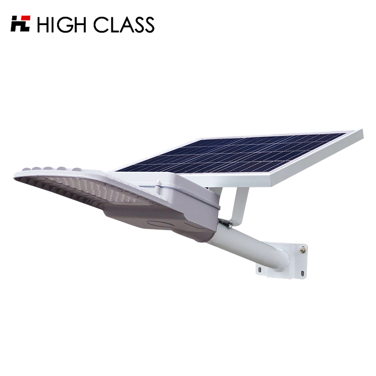 High brightness with lifepo4 battery modular ip65 garden highway lighting 30w semi integrated led solar street <strong>lights</strong>