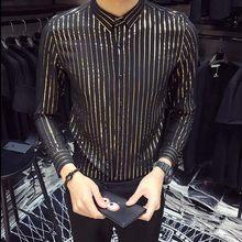 Мужская рубашка-смокинг с рюшами, новинка 2020, Весенняя рубашка с длинным рукавом, мужская рубашка для свадьбы, Camisa Masculina, Готическая Однотонн...(Китай)