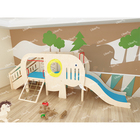 Toy Structure Popular Toy House Play Structure Indoor Pre-school Educational Equipment Wooden Kids Play Area Indoor
