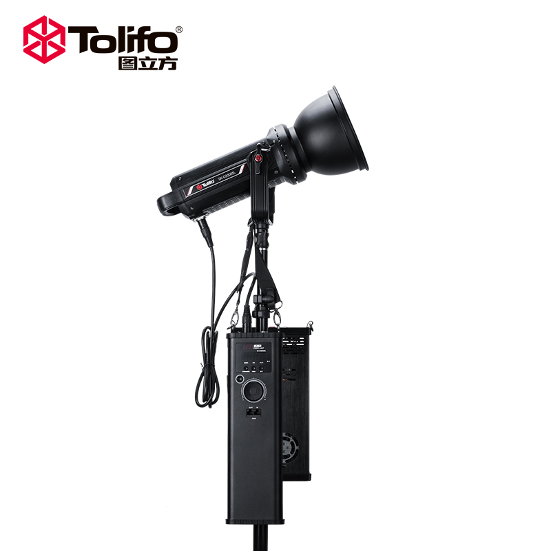 Best quality photography equipment battery operated 5600K 27000LM COB film photo studio 300w led video light for shooting