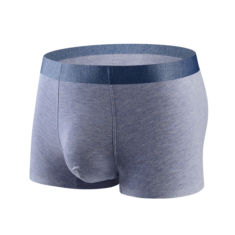Ultra Breathable and Soft Boxer Briefs Mens Low Rise Trunks Underwear