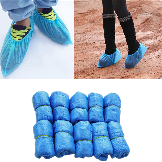 Disposable Plastic Shoe Cover dispenser medical PP shoe cover 56*14 shoe cover for rain