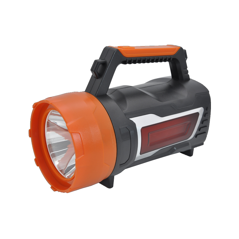 Hesoray newest outdoor rechargeable led portable multifunction emergency handheld searchlight for camping