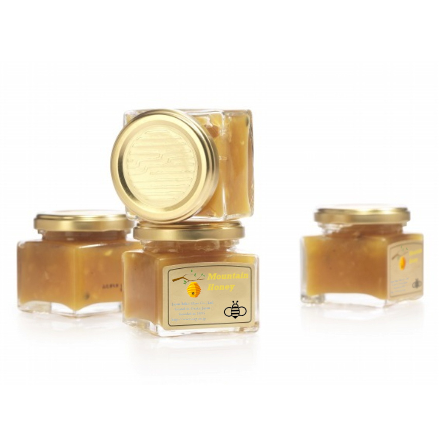 Wholesale 150 ml honey glass bottle packaging with wide mouth