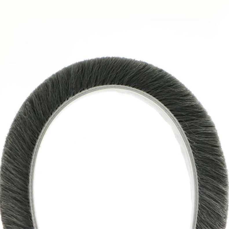 window and door seals/brush sealing non-silicon weather strip