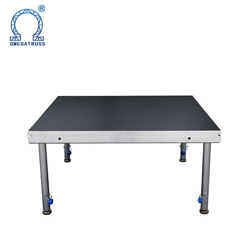 Aluminum portable indoor outdoor concert equipment platform Mobile Concert <strong>Stage</strong> 1*1M
