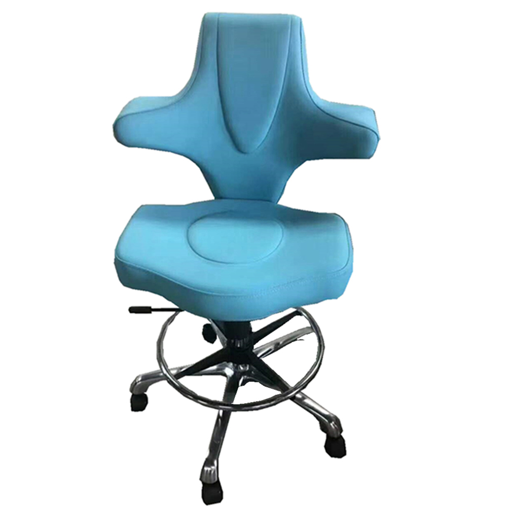 YF-HS-010 Stainless Steel  Medical  Adjustable PU Nurse  Chair