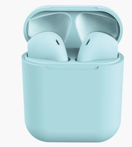 2019 custom macaron color high quality super mini touch control true wireless earphone original 50 earbuds i12tws