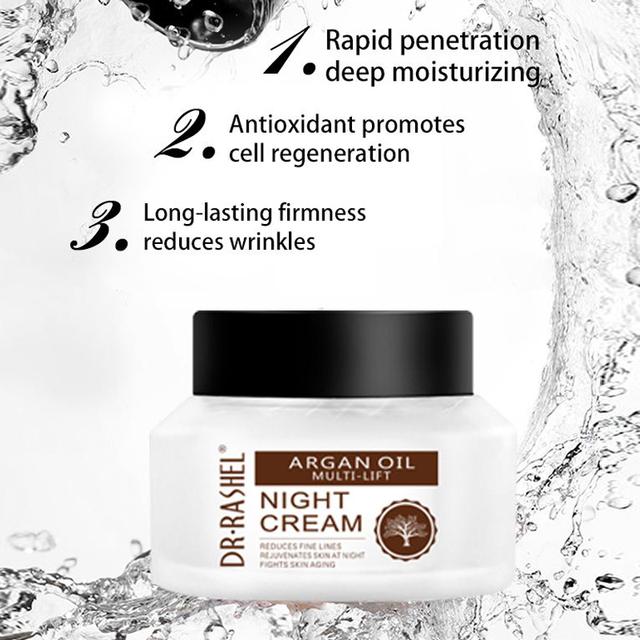 Dr Rashel Argan Oil Multi-lift Reduce Fine Lines Rejuvenates Night Cream  Facial Cream - Buy Facial Cream,Argan Oil Night Cream,Moisturizing Facial  Cream Private Label Product on Alibaba.com