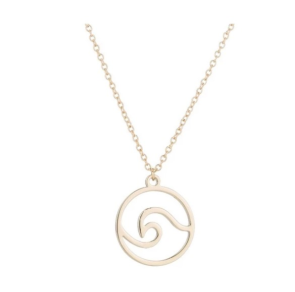Inspire jewelry Personalized Surf Sea Pendant Necklace Boho Ocean Wave for women and girls wholesale custom new design pendants