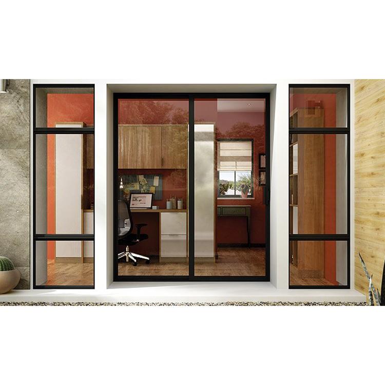Commercial Customized color Power coated AS2047 Australia Standard Aluminum  Sliding Window