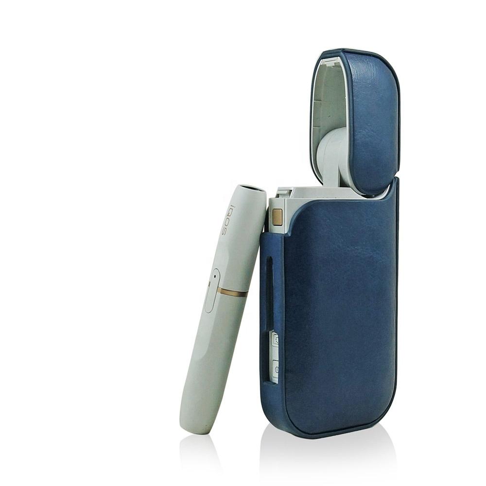 CHENG Mode Leder Metall Zigarettenetui Ultrad/ünne tragbare Zigaretten-Box f/ür 20 Zigaretten