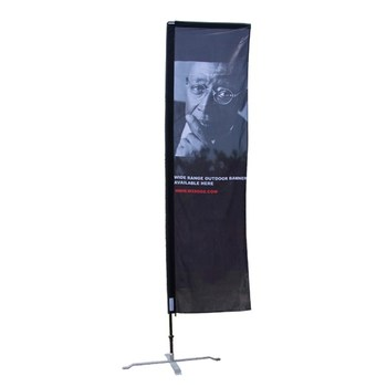 Outdoor/Indoor Display Square Flags Outdoor Promotional Flags Outdoor Flag Fabric