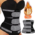 Private Label High Quality Latex Double Belt Zipper Sauna Body Slimming Women Corset Waist Trimmer Trainer Shapers