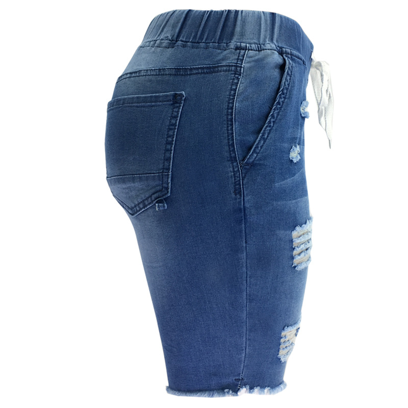 high quality women jeans brands ladies scratch denim destroyed female garments summer pants
