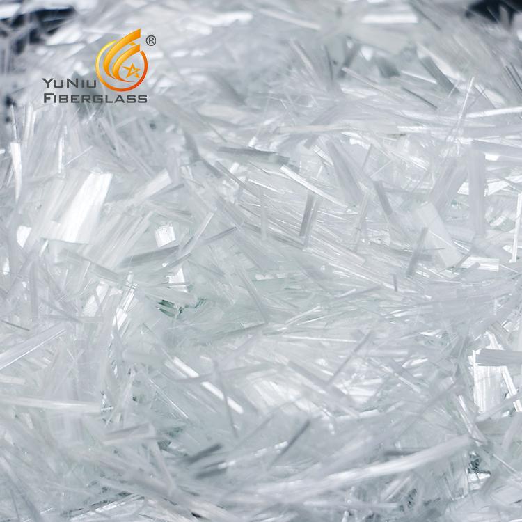 E-glass chopped strands Glass Fibers in Artisan Concrete