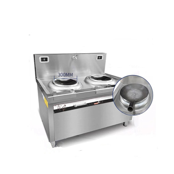 high power mobile 380V 15KW stainless electrical commercial professional kitchen cooking equipment