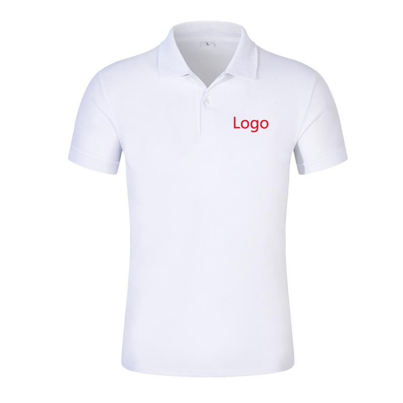 customized men women mens white tshirt private label t-shirt print wholesale promotion polo shirt 100% polyester
