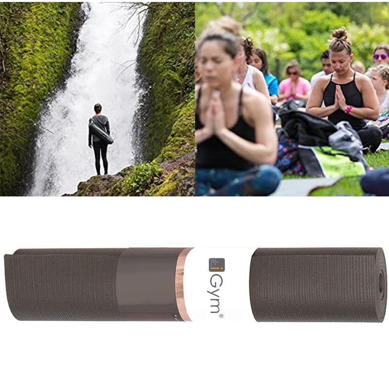 Wholesale Yoga Mat Rubber Natural Nbr Black Waterproof ...