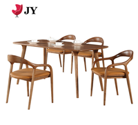 Modern restaurant custom coffee shop furniture wooden chairs and tables set