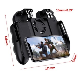 H9 Gamepad Cooling Fan Power Bank Gamepad Controller L1R1 Trigger Joystick Handle Grip