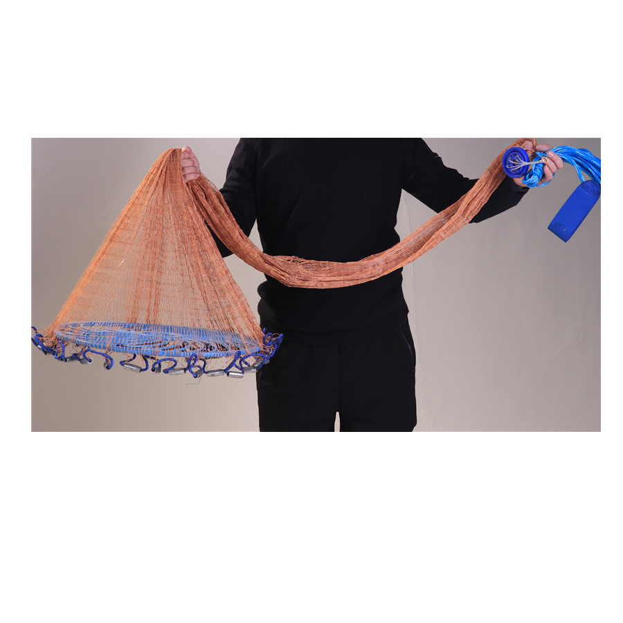 China Supply Frisbee throw nets High Strength Tire Line 10ft fishing cast net throw