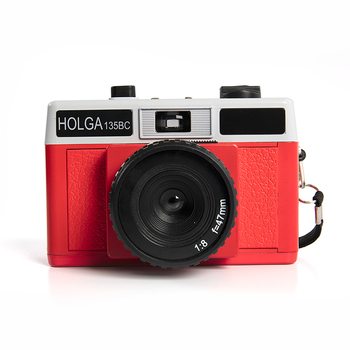 New Hot Sale Holga 135BC Film Camera Plastic Medium Format Lomo 35mm Film Fixed Focus Optical Lens Instant Camera