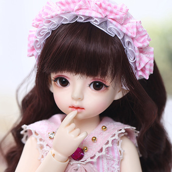 ShugoFairy Ginger Miadoll BJD SD Dolls 1/6 Body Model Baby Full Set with Hair Clothes Shoes Accessories Joint Doll