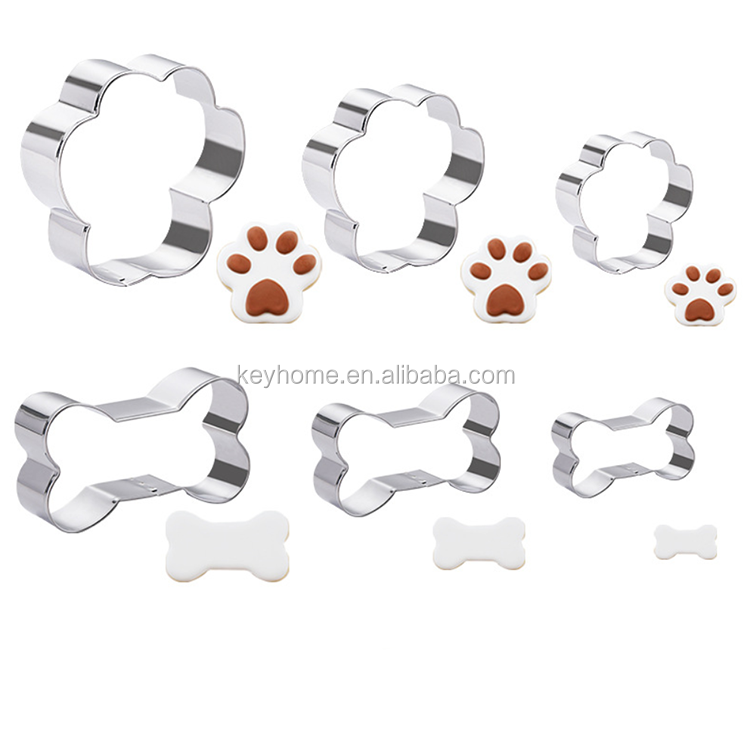 Amazon Stainless Steel Dog Paw Print Cookie Cutter Dog Cookie Cutter
