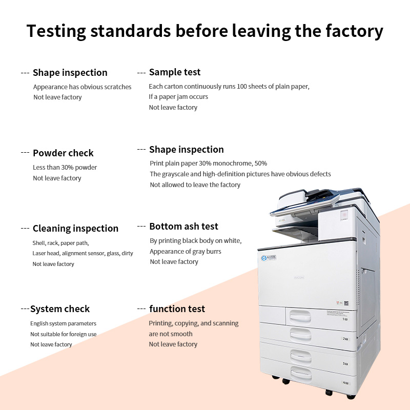 Laser Toner All-in-one Printer A4 A3 Ricoh Imprimante Duplicator Multifonction Scan/Print/Copy Machine Ricoh mp c3003