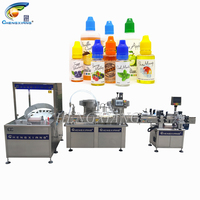 New design 10 ml liquid filling machine for e liquid bottle