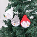Christmas Ball New Christmas Decorations Dolls Christmas Tree Pendant Creative Gift Snowman Bubble Transparent Ball