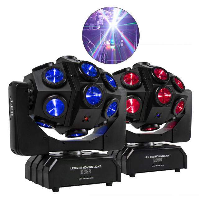 Pioneer dj equipment 18pcs led sweeper laser moving beam head bar light beam laser strobe 3in1 stage laser dj light show system