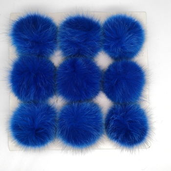 2020 top sale best selling custom colorful rabbit fur pompom