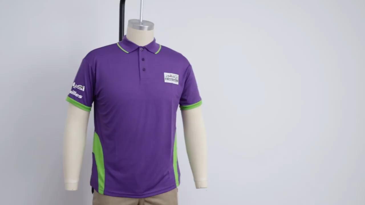 Custom Groothandel Golf Polo Anti Zweet T Shirts